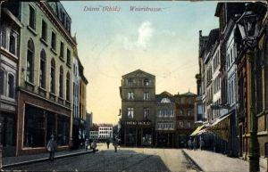 Ak Düren in Nordrhein Westfalen, Weierstraße, Geschäftshaus Conrad Tack & Co.