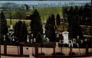 Ak Saarbrücken im Saarland, Blick auf den Friedhof im Ehrental, Grabsteine
