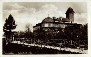 Ak Ebersbach Neugersdorf in Sachsen, Blick auf die Felsenmühle
