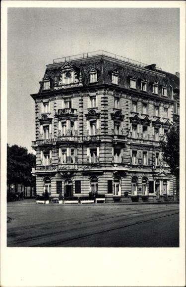 Ak Köln am Rhein, Hotel Kaiser Wilhelm, Kaiser Wilhelm Ring, Hansaring, Straßenansicht