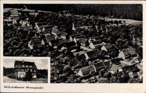 Ak Herzogsweiler Pfalzgrafenweiler Baden Württemberg, Cafe Pension Sonnenschein v. Christian Raissle