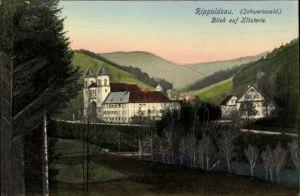 Ak Bad Rippoldsau Schapbach im Schwarzwald, Blick auf Klösterle