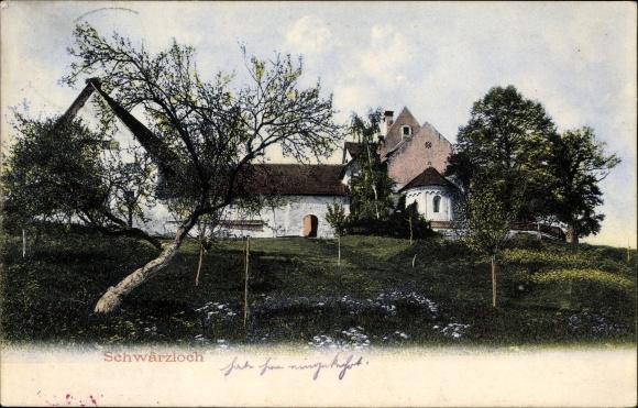 Ak Tübingen am Neckar Baden Württemberg, Schwärzlöch