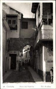 Ak Cordoba Andalusien Spanien, Arco del Portillo, Zapateria