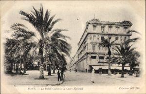 Ak Bone Annaba Algerien, Le Palais Calvin et le Cours National