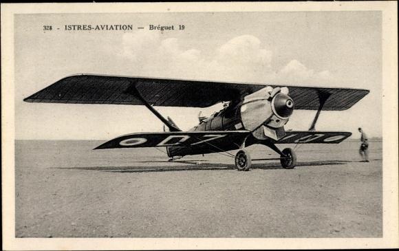 Ak Istres Aviation, Bréguet 19, Französisches Militärflugzeug, Biplan
