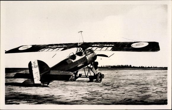 Ak Istres Aviation, Avion Morane transformé en rouleur, französisches Militärflugzeug
