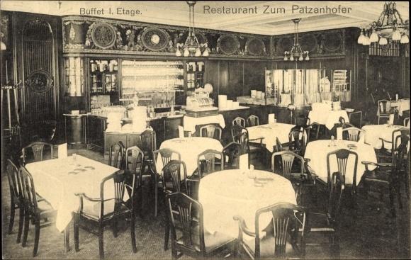 hamburg restaurant zum patzenhofer birkenzimmer innenansicht nr 344307 oldthing. Black Bedroom Furniture Sets. Home Design Ideas