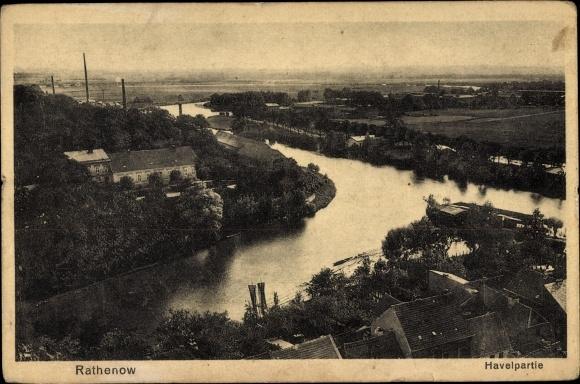 Datierung im Flussufer