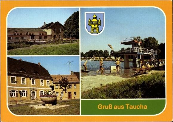 Freibad Taucha wappen ak taucha in nordsachsen stadthalle mit terrasse rudolf