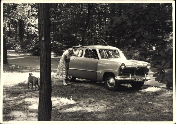 Foto Ak Automobil, Kennzeichen KB-034771, Oldtimer