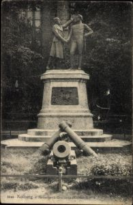 Ak Kołobrzeg Kolberg Pommern, Nettelbeck Gneisenau Denkmal
