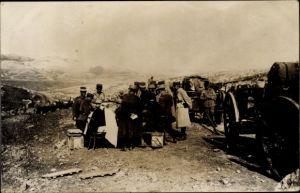 Foto Ak Syrien, Französische Truppen, Syrische Revolution 1925