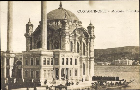 Ak Konstantinopel Istanbul Türkei, Mosquée d'Ortakeuy