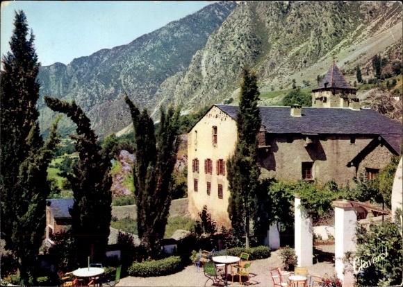 Ak Andorra la Vella Andorra, Casa de la Vall, Maison du Parlement
