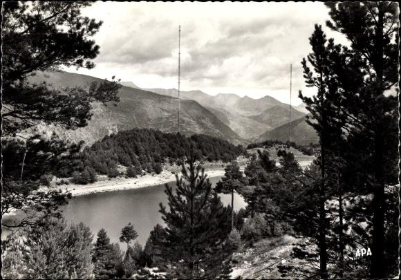 Ak Encamp Andorra, Site sauvage du Lac d'Engolasters