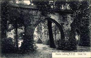 Ak Kloster Lehnin in Brandenburg, Blick auf das Tetzel Tor, Kloster
