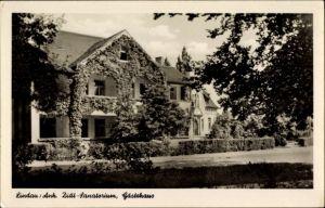 Ak Lindau Zerbst in Anhalt, Diät Sanatorium, Gästehaus