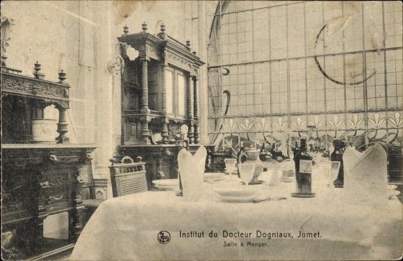 Ak Jumet Charleroi Wallonien Hennegau, Institut du Docteur Dogniaux, Salle à manger