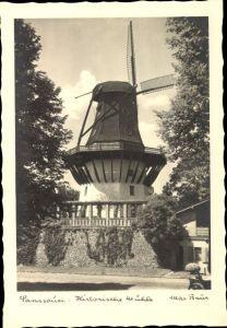 Ak Potsdam in Brandenburg, Schloss Sanssouci, historische Windmühle