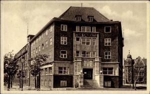 Ak Herne im Ruhrgebiet Nordrhein Westfalen, Städtische Sparkasse