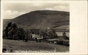 Ak Plettenberg im Märkischen Kreis, Blick auf das Haus Brockhausen