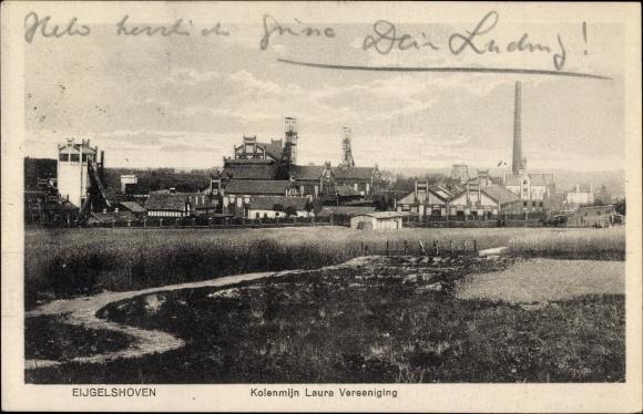 Kerkrade Niederlande ak eygelshoven kerkrade limburg niederlande kolenmijn