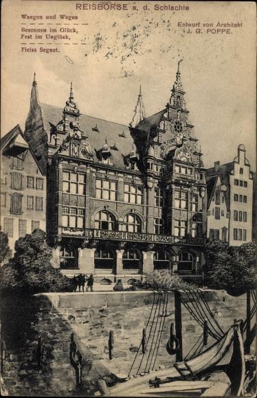 Bremen Architekt ak hansestadt bremen reisbörse an der schlachte entwurd architekt