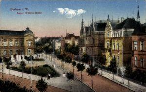 Ak Bochum im Ruhrgebiet, Blick in die Kaiser Wilhelm Straße