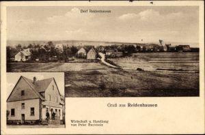 Ak Reidenhausen im Hunsrück, Panorama, Wirtschaft und Handlung von Peter Buchholz