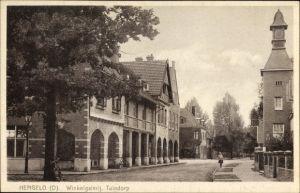 Ak Hengelo Overijssel Niederlande, Winkelgalerij, Tuindorp