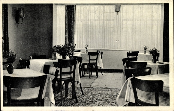 Ak Aschendorf Bad Rothenfelde am Teutoburger Wald, Restaurant und Pensionshaus Kröger