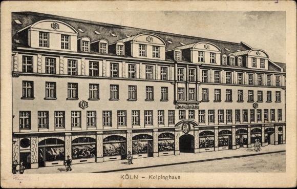 Ak Köln am Rhein, Blick auf das Kolpinghaus