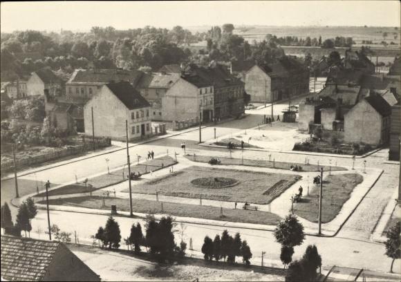 Ak Rzepin Reppen Ostbrandenburg, Stadtansicht, Parkanlage