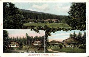 Ak Kladská Glatzen Mariánské Lázně Marienbad Reg. Karlsbad, Kaiserwald
