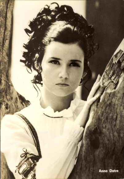 Ak Schauspielerin Anna Detre, Portrait, Der wundersame Kaftan, Progress Starfoto