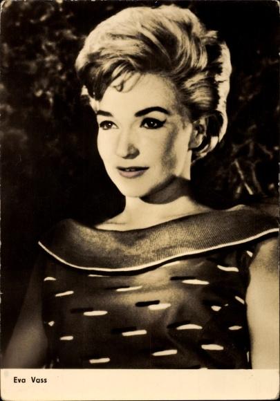 Ak Schauspielerin Eva Vass, Portrait, Traumlose Jahre, Progress Starfoto