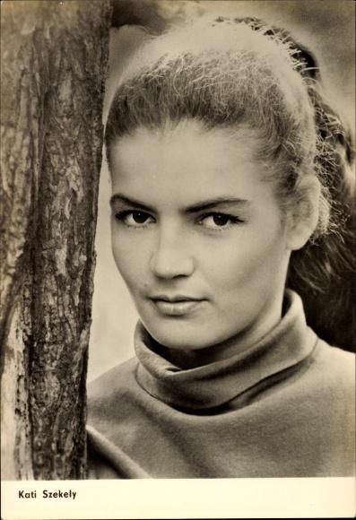 Ak Schauspielerin Kati Szekely, Trübe Wasser, Defa Film, Progress Starfoto