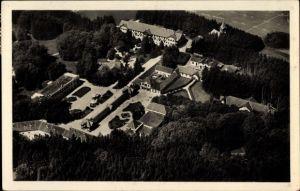Ak Bad Tatzmannsdorf im Burgenland, Kuranlage, Fliegeraufnahme