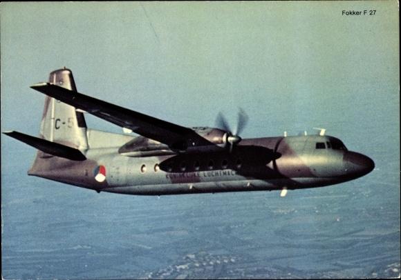 Ak Niederländisches Militärflugzeug, Fokker F 27, C-5