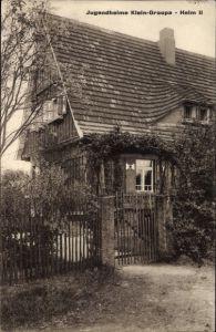 Ak Graupa Pirna in Sachsen, Jugendheim II, Außenansicht