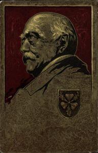 Künstler Litho Schellenberger, Otto von Bismarck, Herzog zu Lauenburg, Bundeskanzler, Portrait