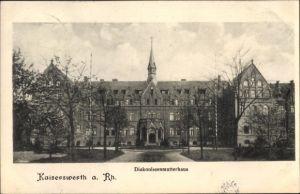 Ak Kaiserswerth Düsseldorf Nordrhein Westfalen, Vorderansicht vom Diakonissenmutterhaus