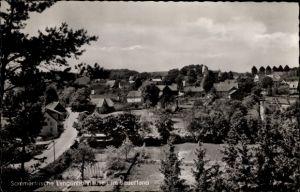 Ak Langenholthausen Balve im Märkischen Kreis, Totalansicht der Ortschaft
