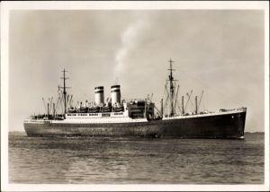 Ak Dampfschiff Hamburg, HAPAG, Schnelldampfer