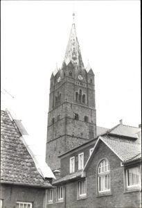 Foto Ankum in Niedersachsen, Blick auf den Kirchturm