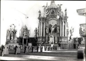Foto Voltlage Niedersachsen, Kirche, Innenansicht, Altar