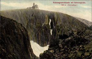 Ak Szklarska Poręba Schreiberhau Riesengebirge, Schneegrubenbaude, Schronisko nad Śnieżnymi Kotłami