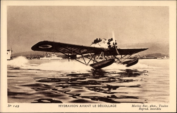Ak Hydravion avant le Décollage, Wasserflugzeug
