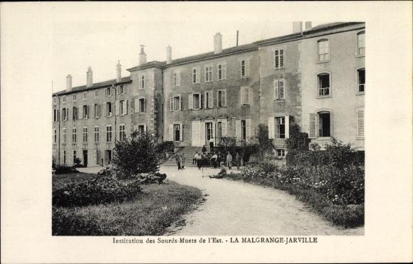 Ak Jarville-la-Malgrange Lothringen Meurthe et Moselle, Institution des Sourds Muets de l'Est